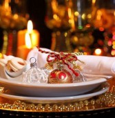 Προτάσεις διακόσμησης για το εορταστικό τραπέζι της Πρωτοχρονιάς!