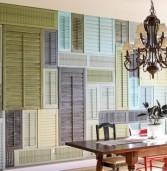 Ανακυκλώστε υλικά και επαναχρησιμοποιήστε αντικείμενα για τη διακόσμηση του σπιτιού σας.(Photos)