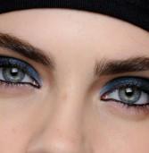 Μακιγιάζ για μπλε σκιές ματιών