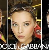 Προταση για μακιγιάζ απο τον διάσημο οίκο Dolce & Gabbana .Έμφαση στα ζυγωματικά.