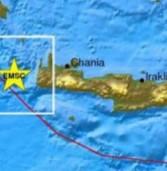 Αισθητός σε όλο το νότιο Αιγαίο ο ισχυρός σεισμός 6,3 Ριχτερ με επίκεντρο τα Χανιά.(Video)