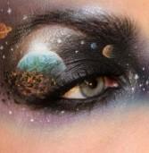 Makeup Artist ζωγραφίζει εντυπωσιακές σκηνές στα…βλέφαρά της!!