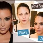 Πώς να κάνεις ακριβώς το μακιγιάζ της Kim Kardashian!