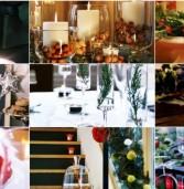 20+ Ιδέες Χριστουγεννιάτικης διακόσμησης με κεριά & κηροπήγια