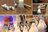 DIY:Απίθανες ιδέες για χειροποίητα χριστουγεννιάτικα στολίδια!