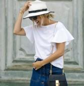 9+1 τρόποι για να φορέσεις το λευκό σου t-shirt το καλοκαίρι