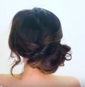 Ιδέα για το ρεβεγιόν (και όχι μόνο)! Πώς να κάνεις ένα ρομαντικό updo!