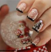 Christmas tree νύχια