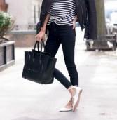Το μυστικό για να δείχνεις πιο ψηλή, όταν φοράς φλατ παπούτσια!