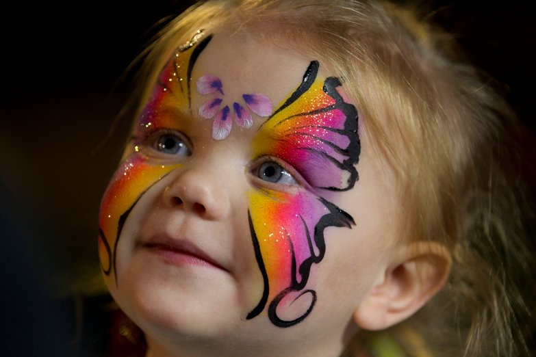 face-paintings