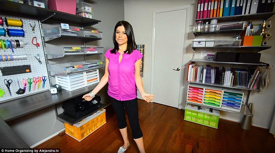 Αυτή η Γυναίκα Δηλώνει ότι έχει «το πιο Οργανωμένο Σπίτι στην Αμερική».