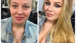 Εκπληκτικές μεταμορφώσεις  πριν το μακιγιάζ και μετά απ' αυτό.(Photos)