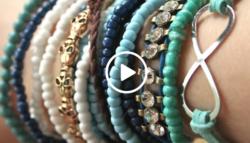Φτιάξτε μόνες τα βραχιολάκια του καλοκαιριού με αυτό το υπερ-αναλυτικό βίντεο