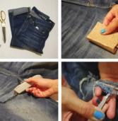 Πως να κάνεις τα παλιά σουjean παντελόνια να φαίνονται καινούρια!