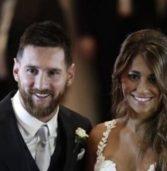 Ο Lionel Messi παντρεύτηκε την πρώτη του αγάπη, Antonella Roccuzzo σε μια μαγική τελετή.(Photos)