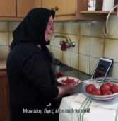 Viral η hi-tech  γιαγιά για τον ημιμαραθώνιο Κρήτης.(Videos)