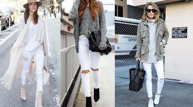 Πως να φορέσουμε λευκά τον χειμώνα !