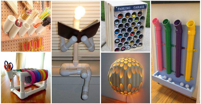DIY-ιδέες-από-PVC-σωλήνες