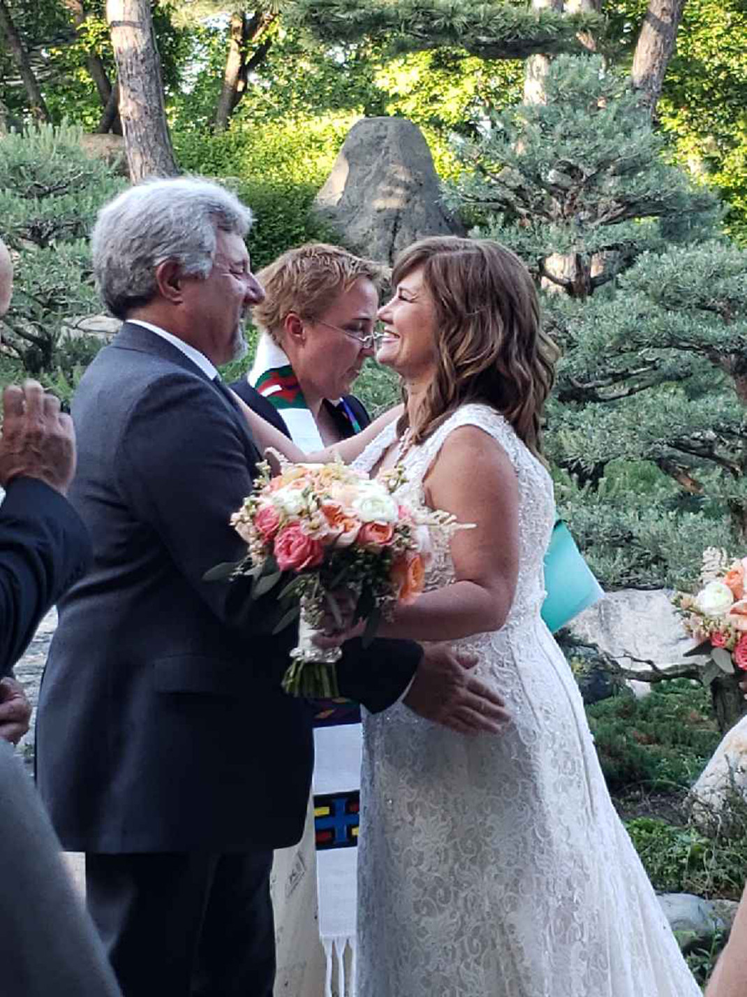 Friends Marry After Promising They Would If They Were Single at 50 Courtesy: Kimberley Dean