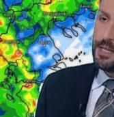 Καιρός: Έρχονται επικίνδυνες καταιγίδες .Για νέο σφοδρότατο κύμα κακοκαιρίας προειδοποιεί ο Καλλιάνος.