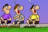 Δύο ακόμη σκίτσα του Αρκά δημοσιεύθηκαν στην σελίδα του σκιτσογράφου στο Facebook με τα καμώματα του «μικρού πρωθυπουργού».