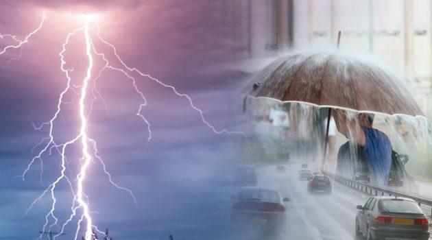 Καιρός:Δείτε σε ποιές περιοχές  θα «ξεσπάσει» η κακοκαιρία τις επόμενες ώρες με καταιγίδες και χαλάζι.