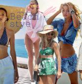 Beachwear: Styling tips από10 διάσημες  για την εμφάνιση σου στην παραλία! (Photos)