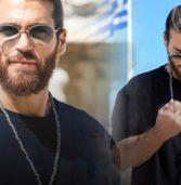 Τζαν Γιαμάν:Απαράδεκτη χειρονομία του πρωταγωνιστή της τουρκικής σειράς , «Με τα φτερά του έρωτα» μπροστά στην ελληνική σημαία.