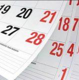Μάθετε για τις αργίες και τα τριήμερα του 2020!