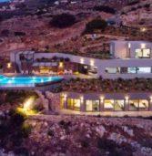 Κρήτη:Δείτε την εκθαμβωτική βίλα τριών επιπέδων, αξίας 2.800.000 ευρώ