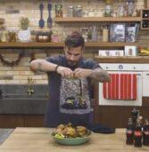 Πεντανόστιμο κοτόπουλο με σαλάτα παντζανέλα από τον Άκη Πετρετζίκη.(Video)