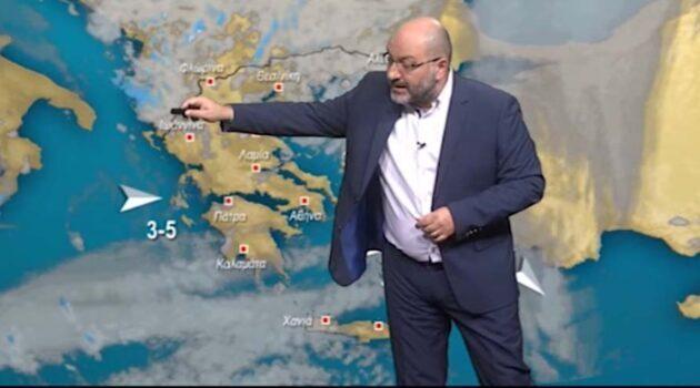Καιρός: Ο Σάκης Αρναούτογλου προειδοποιεί για σοβαρή επιδείνωση του καιρούτην 28η Οκτωβρίου. (Video)