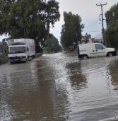 Κρήτη: Πλημμύρισε το Ηράκλειο. Εικόνες με εγκλωβισμένους οδηγούς σε  δρόμους (Βίντεο)