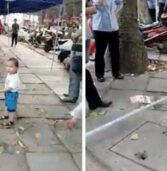 Αυτό το νήπιο υπερασπίστηκε τη γιαγιά του & κάνει το γύρο του διαδικτύου