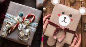 DIY:30 φανταστικές και πρωτότυπες ιδέες για περιτύλιγμα δώρων.(Photos)