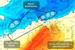 Καιρός: Mίνι «καλοκαίρι» το Σαββατοκύριακο στην Ελλάδα  ενώ η Ευρώπη θα παγώσει.Που οφείλεται το φαινόμενο; (Χάρτης)