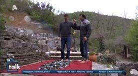 Θανάσης Ευθυμιάδης: Έβαλε τον Σρόιτερ να περπατήσει σε σπασμένα γυαλιά (video)