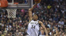 NBA: Φοβερός Αντετοκούνμπο στο Top 10 (video)